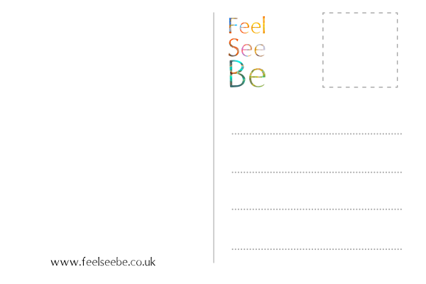 Feel see be postcard